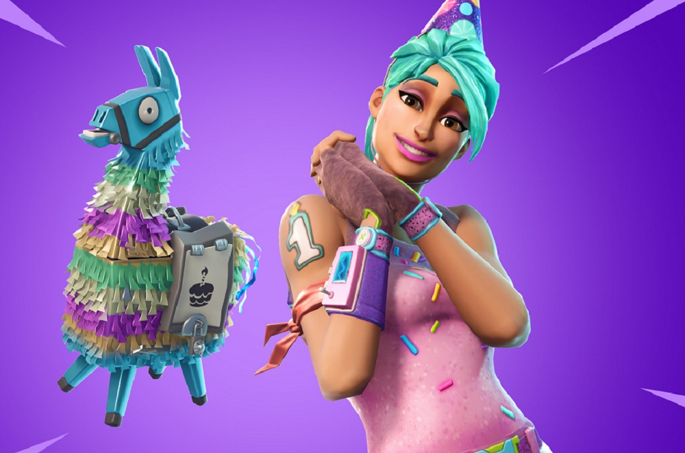 Fortnite reopens Playground Mode to celebrate its first birthday screenshot