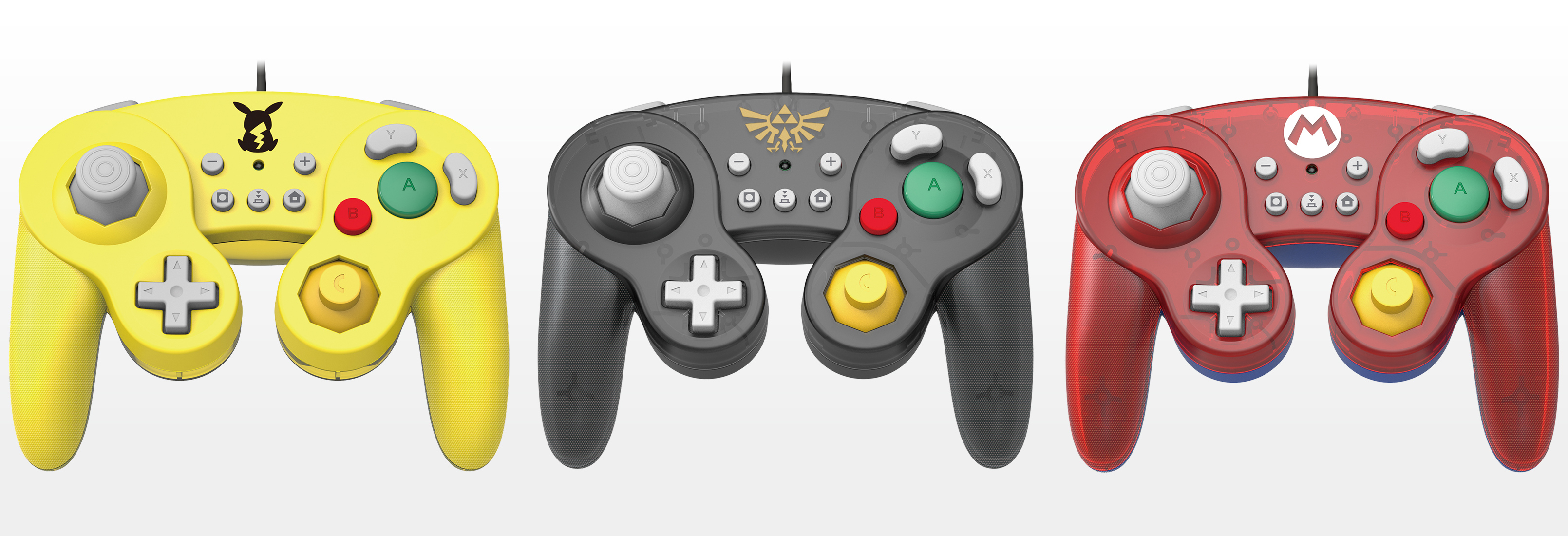 Nintendo Switch is getting three GameCube-style controllers from Hori screenshot