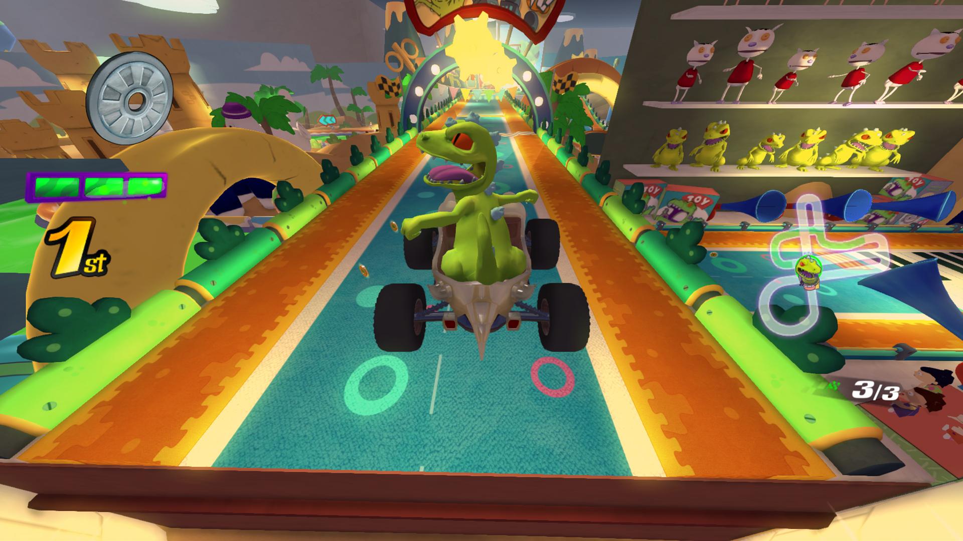 Childhood favorites return for Nickelodeon Kart Racers screenshot