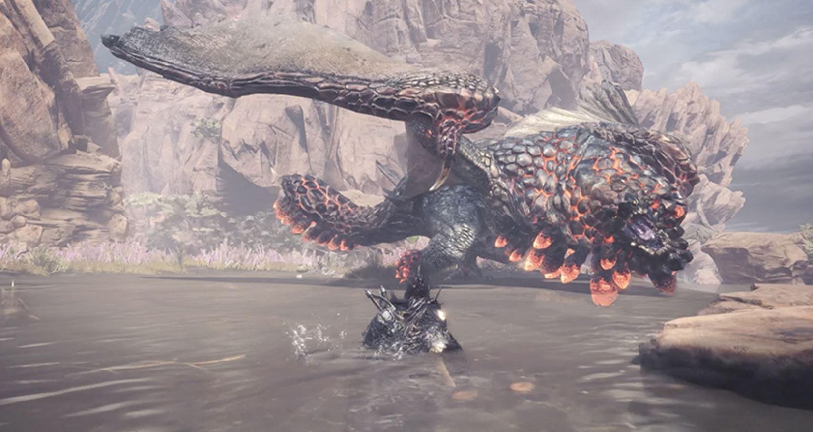 Monster Hunter: World loads so much faster on PC screenshot