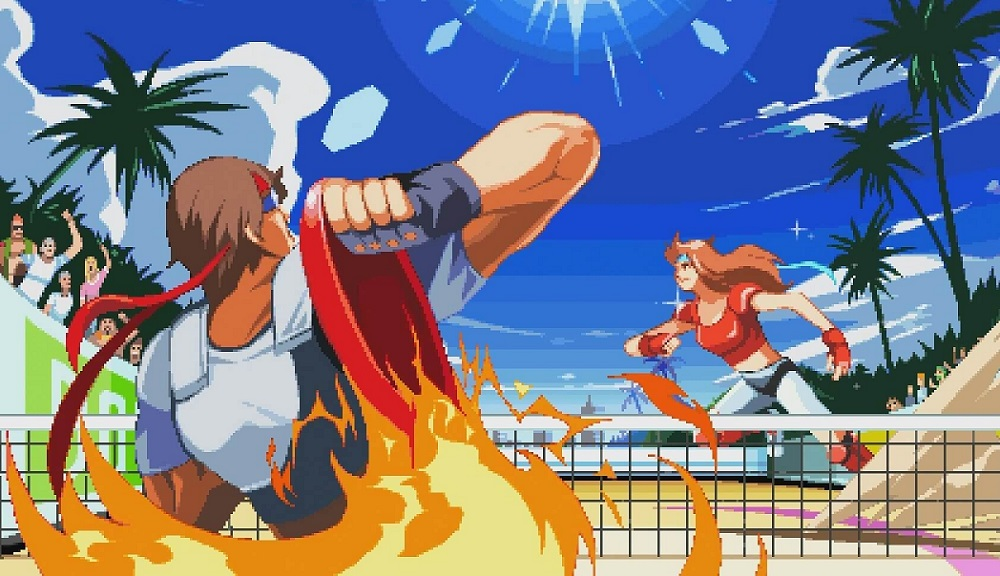 Windjammers has one of the highest number of entrants at AnimEVO 2018 screenshot
