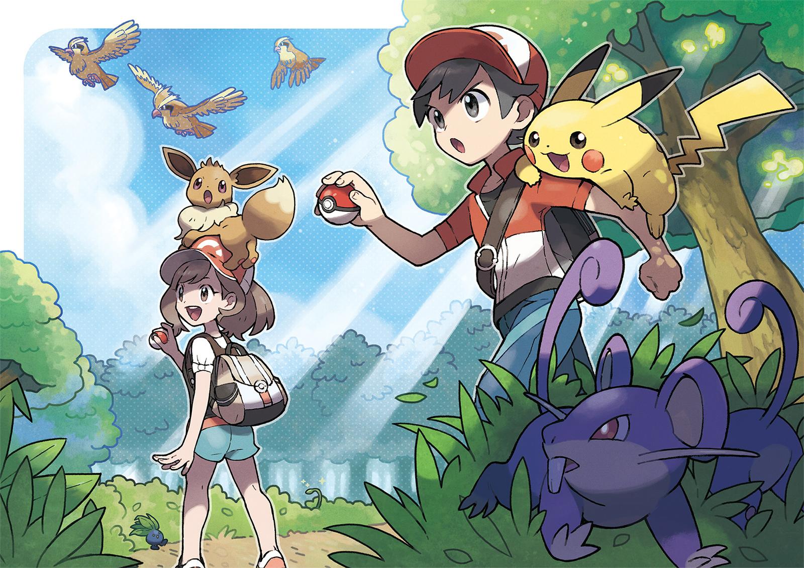Here's how to spot shiny Pokemon in the Pokemon: Let's Go games screenshot