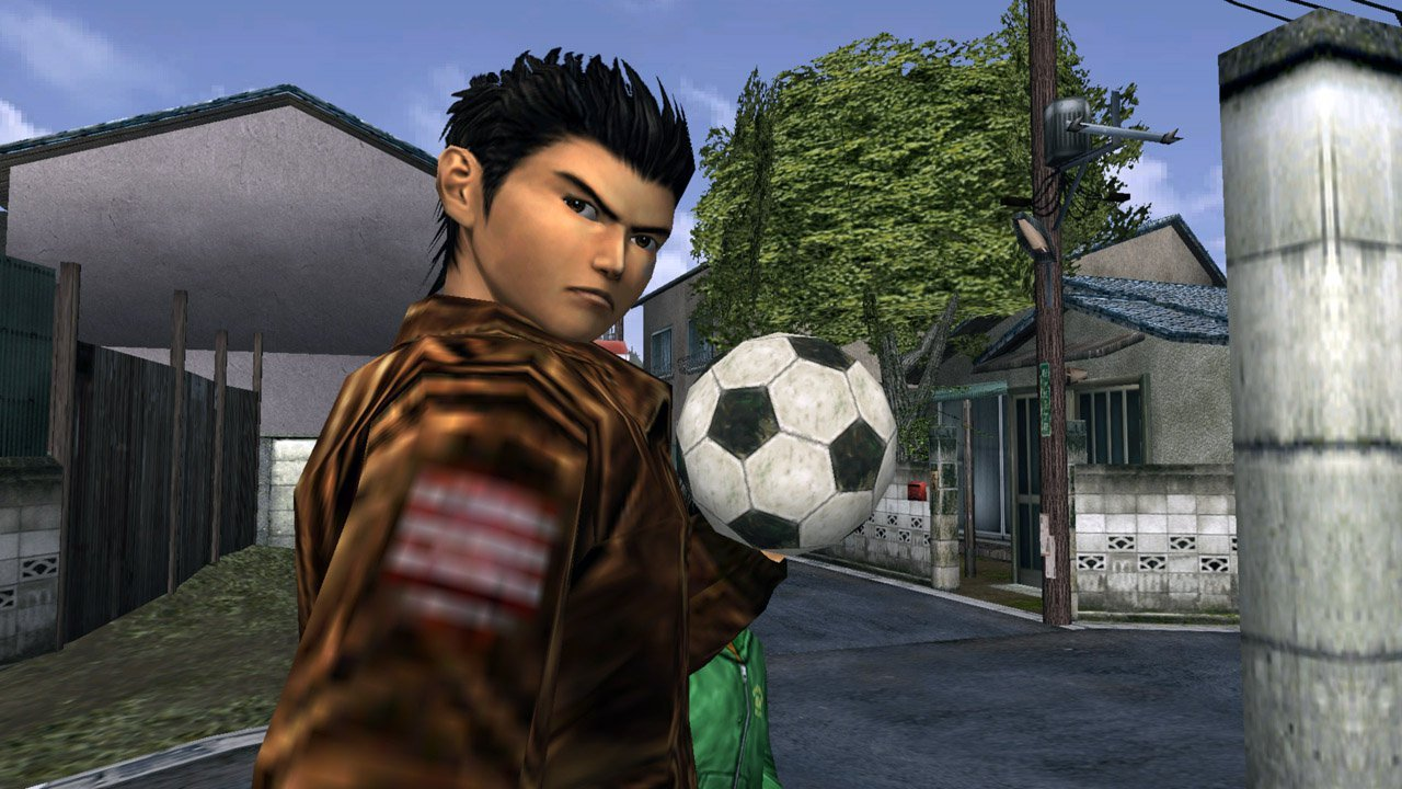 English Shenmue voice actor takes us on a tour of the series before the remasters arrive screenshot