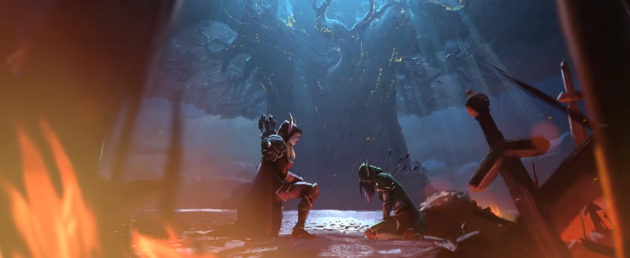 Next up on World of Warcraft's expansion lead-in series: the polarizing Sylvanas screenshot