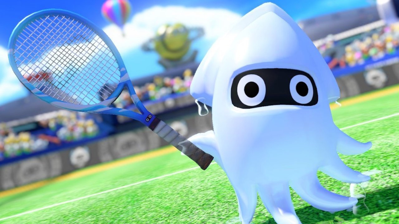 Mario Tennis Aces is adding a retry option to story mode screenshot