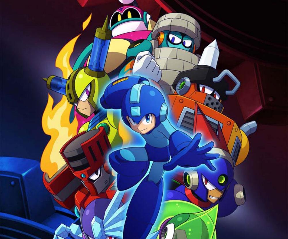 Capcom gives us our first real look at Mega Man 11's challenge mode screenshot