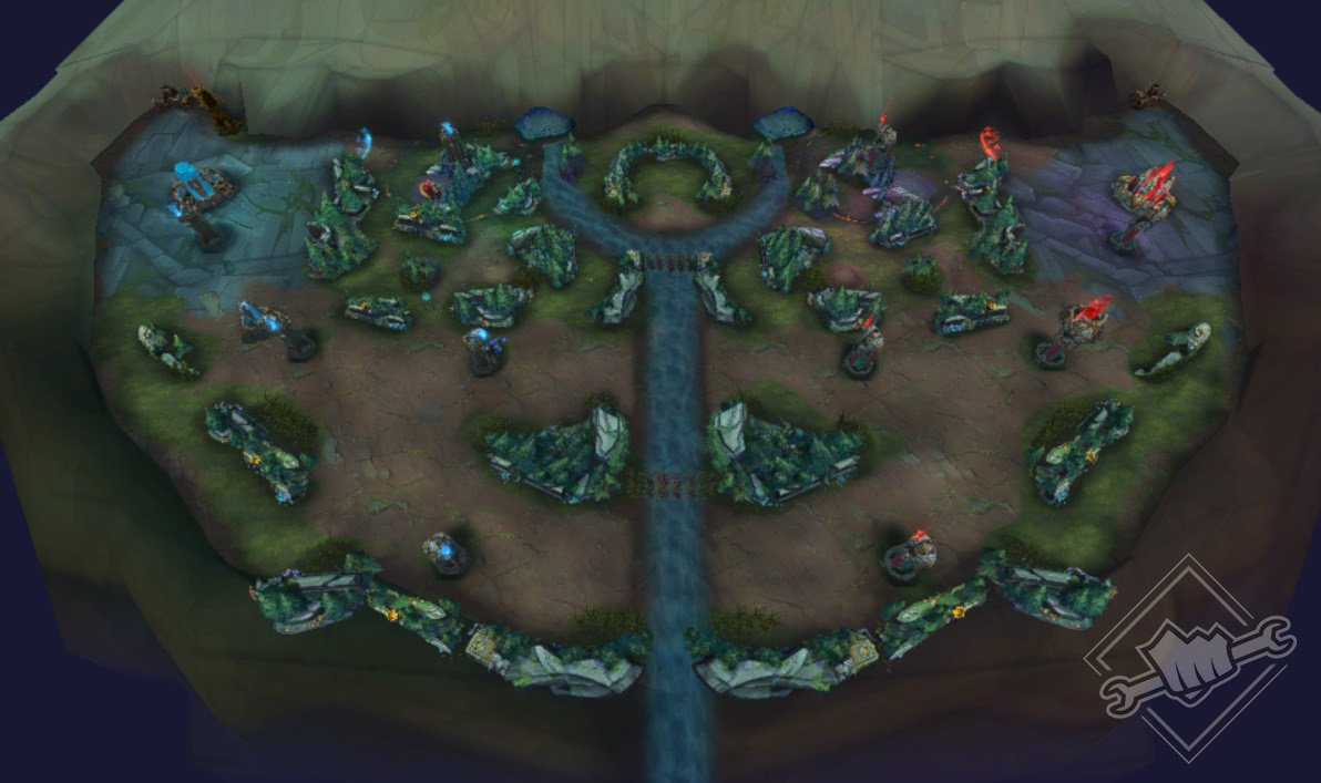 Mapa League Of Legends.League Of Legends Is Getting A New Mode For Quicker Matches