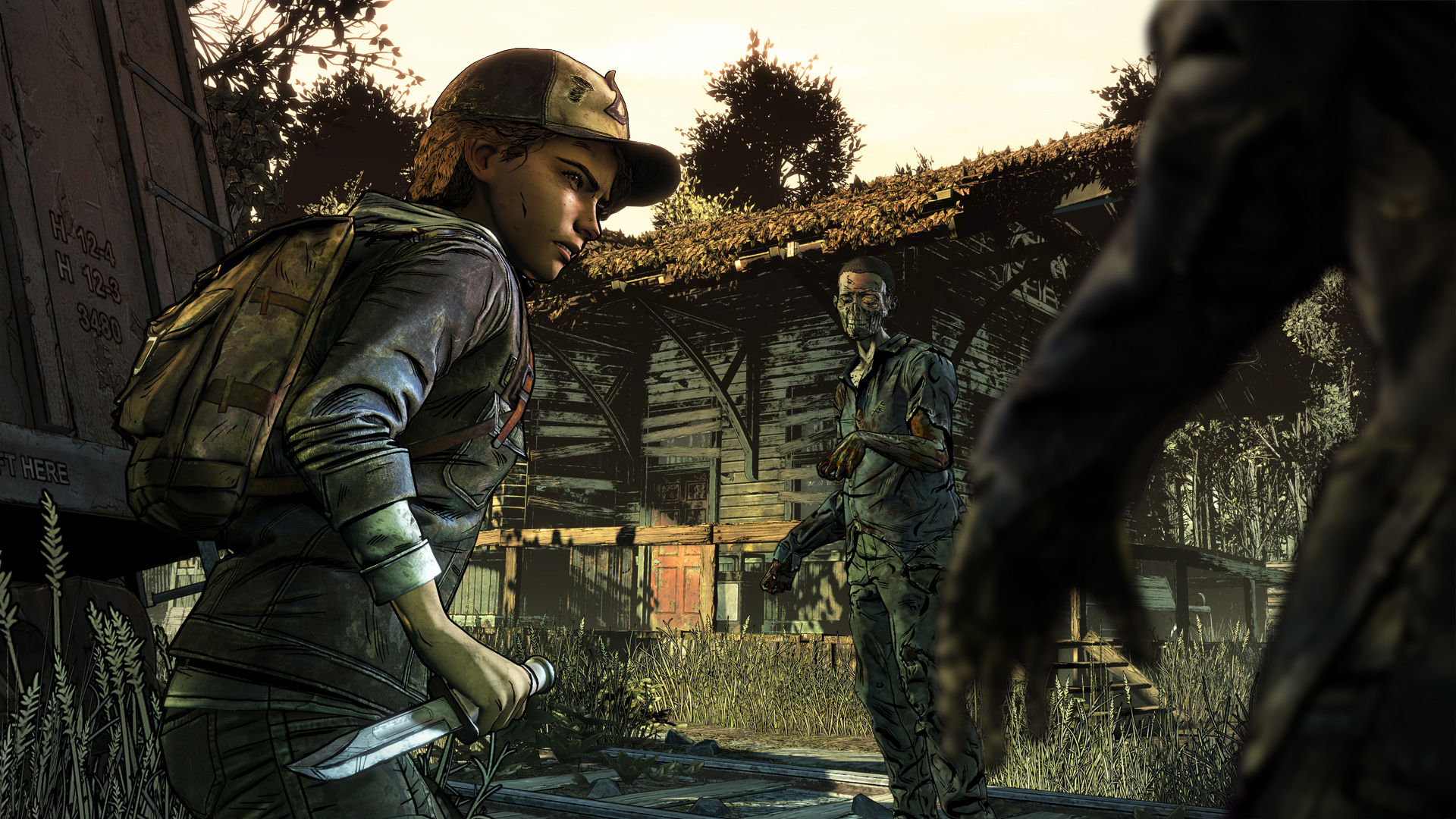 Create a save file for The Walking Dead with Telltale's Final Season Story Builder screenshot