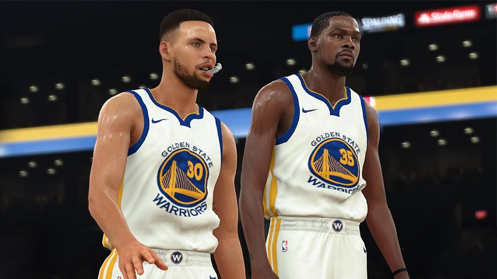 NBA 2K18 is the best selling entry in the B-ball franchise screenshot