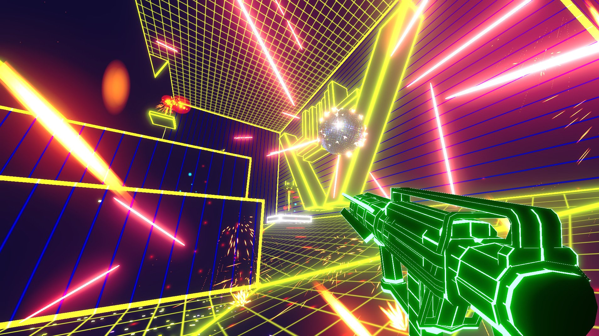 Black Ice could pass off as a Tron sequel screenshot
