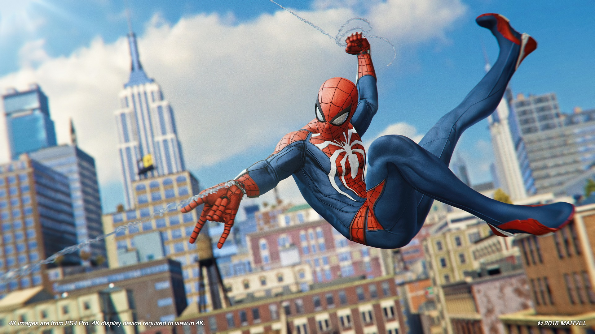 Spider-Man has some pretty great names for its difficulty settings screenshot