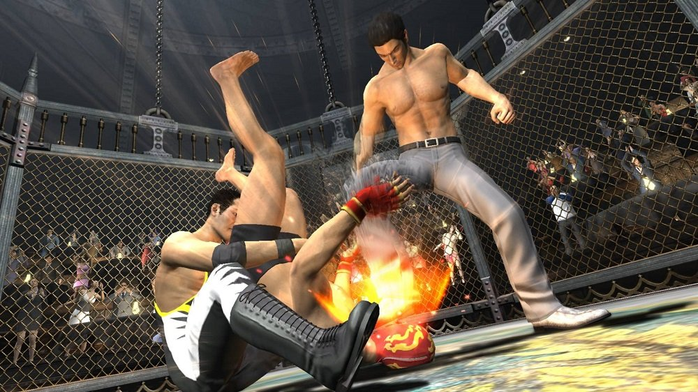 Yakuza 3 remaster screens deliver tag-team brawling action
