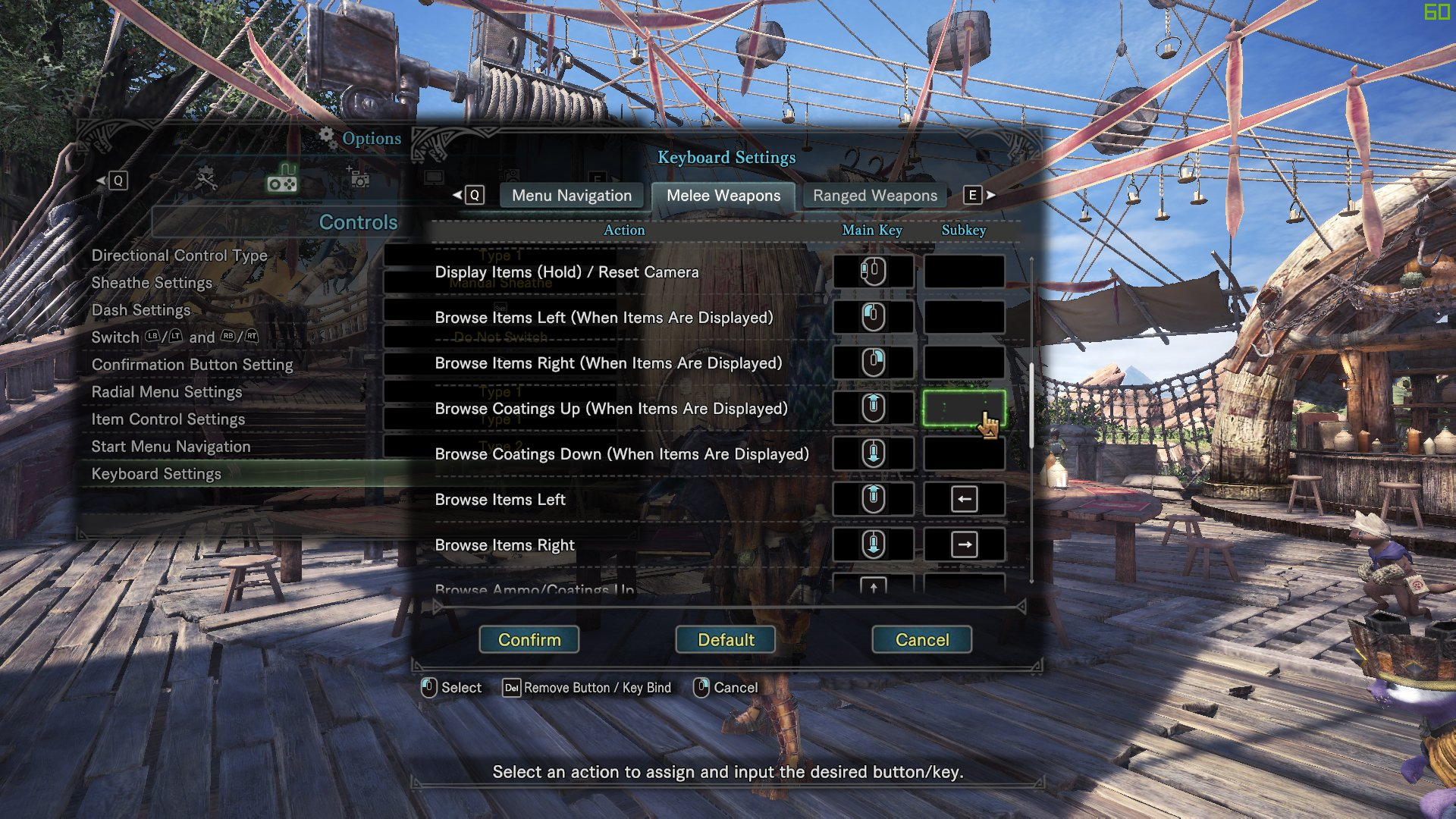Here's how to make Monster Hunter: World's PC controls better