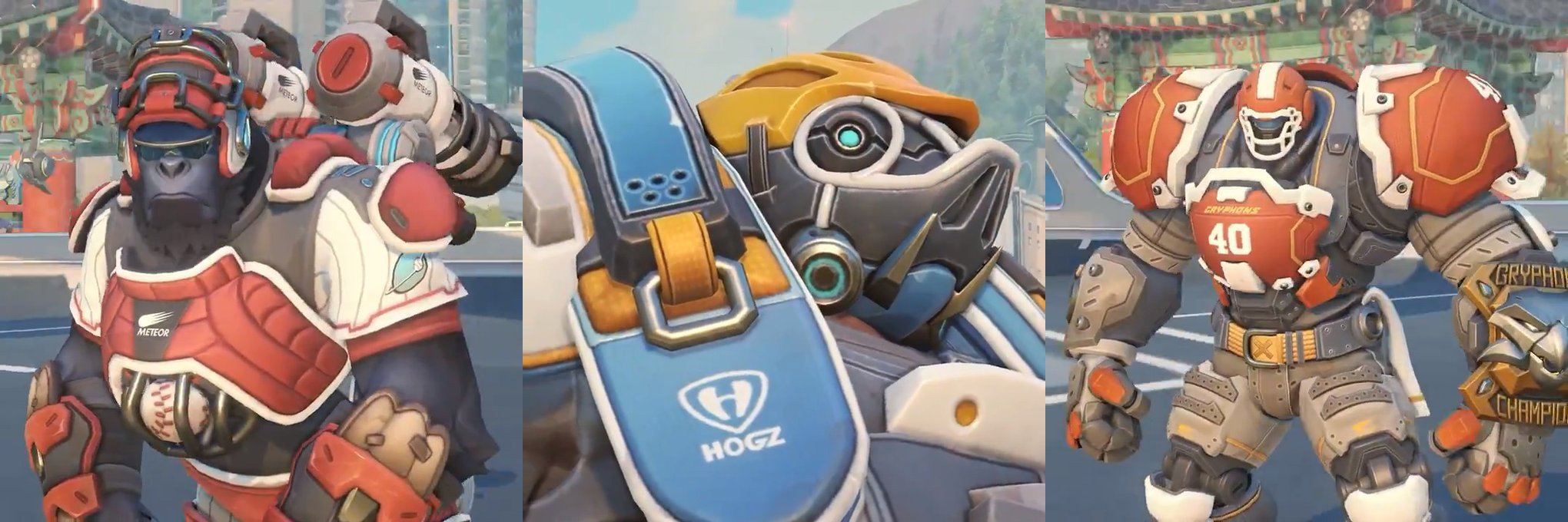 Overwatch heroes are sporting new looks for Summer Games 2018 screenshot