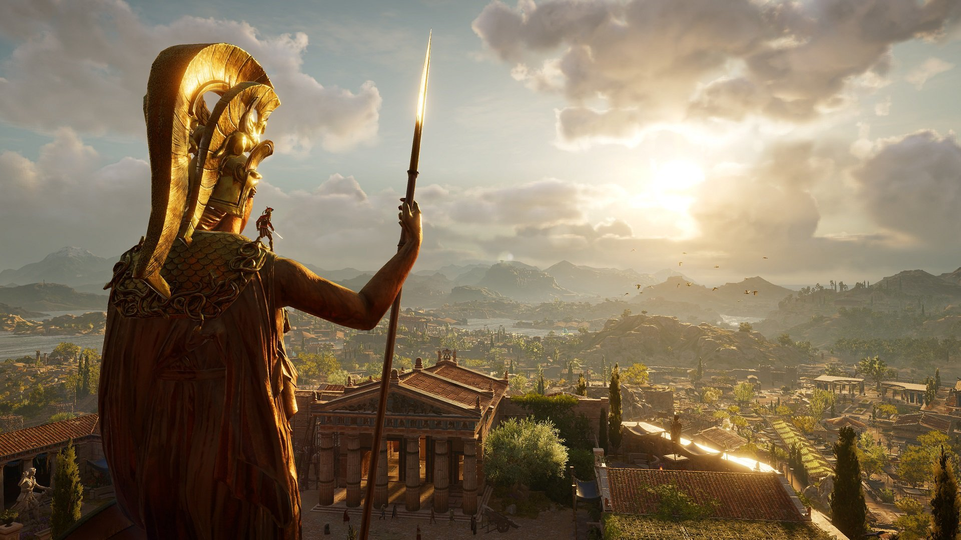 Get Assassin's Creed Odyssey and two other games for free with purchase of certain AMD graphics cards screenshot