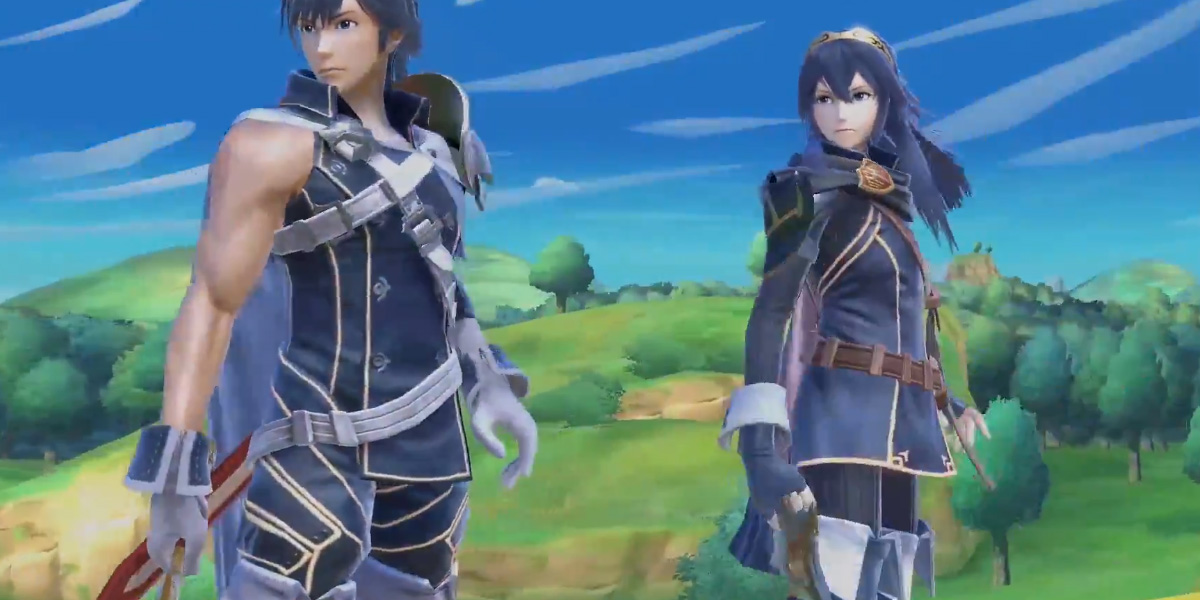 Chrom and Dark Samus are Echo Fighters in Super Smash Bros. Ultimate screenshot