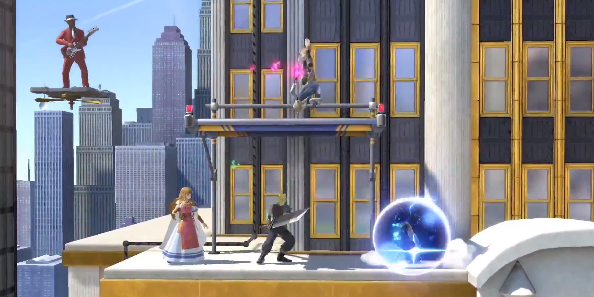 New Donk City leads a huge list of 103 stages for Super Smash Bros. Ultimate screenshot