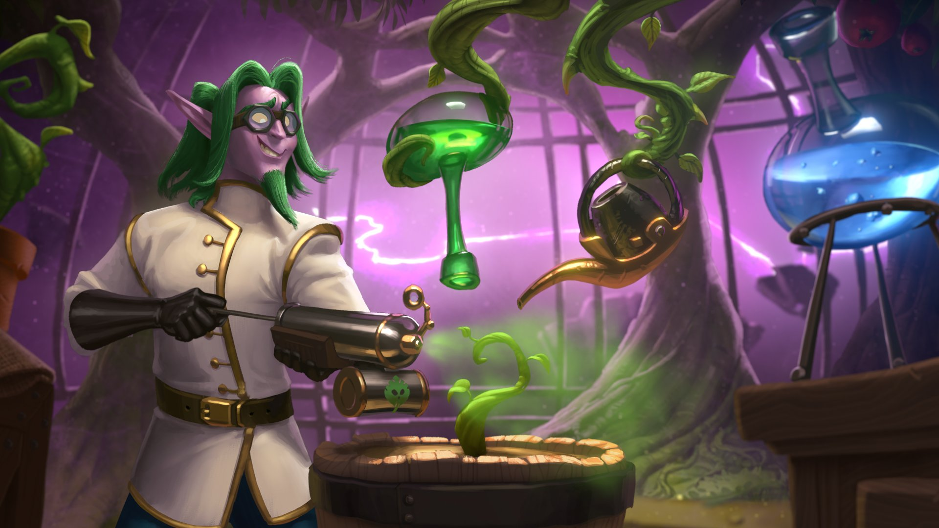 Hearthstone's Boomsday Project adds some weird science to Blizzard's card battler screenshot