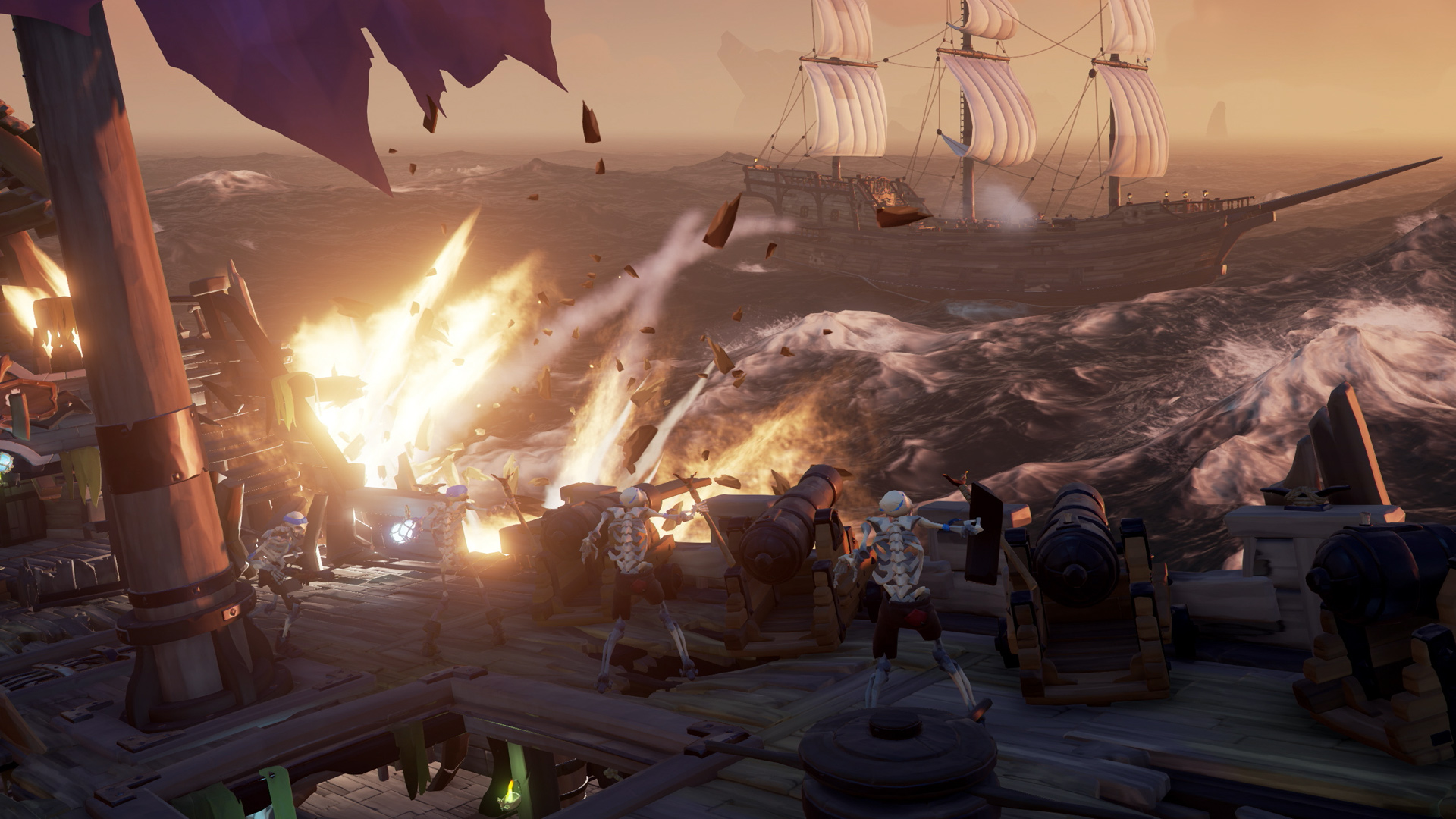 Sea of Thieves patch fixes pesky cannon glitches screenshot