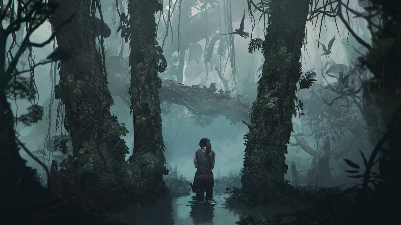 Lara's leaving bodies across the jungles of Peru in Shadow of the Tomb Raider screenshot