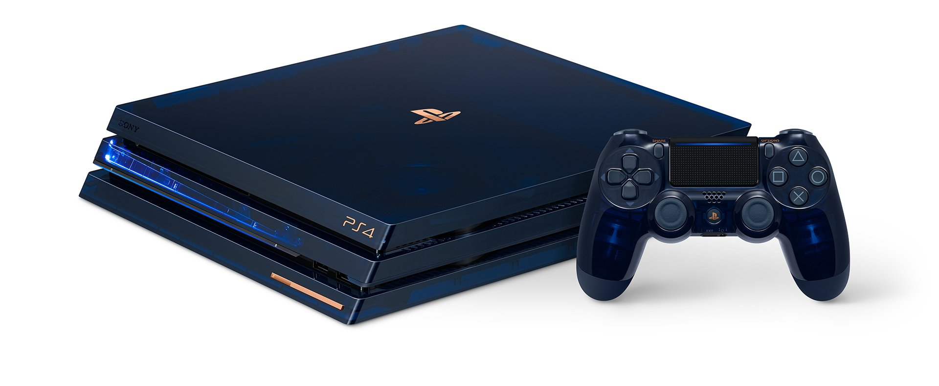 This new translucent PS4 is slick as hell screenshot
