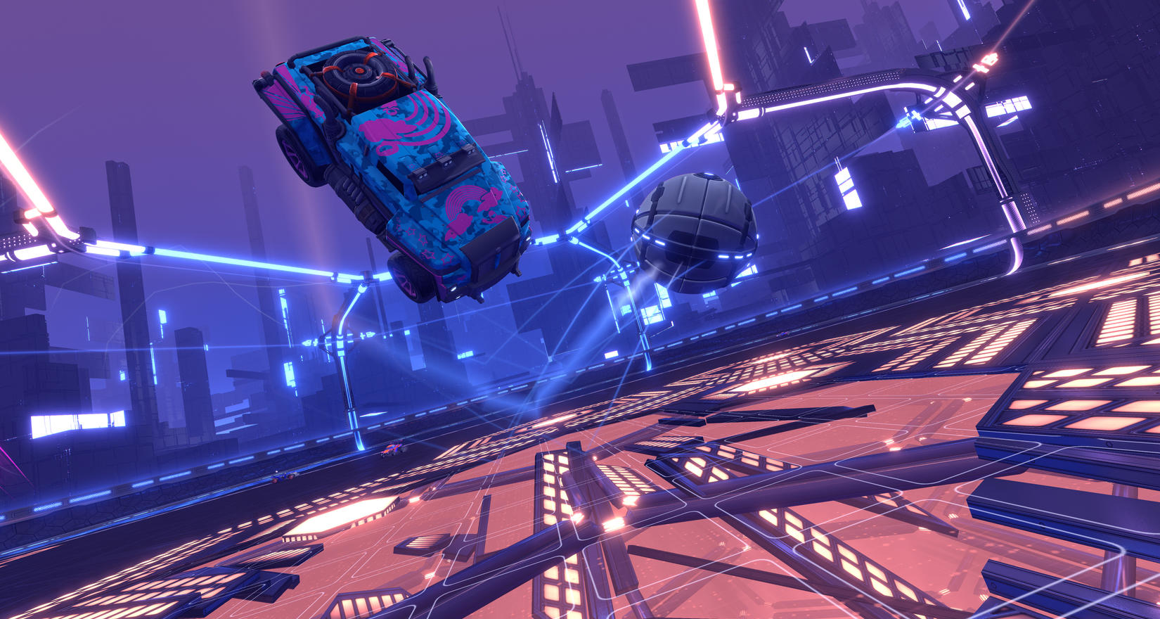 Rocket League's wackiest game modes are getting their own ranked playlists screenshot