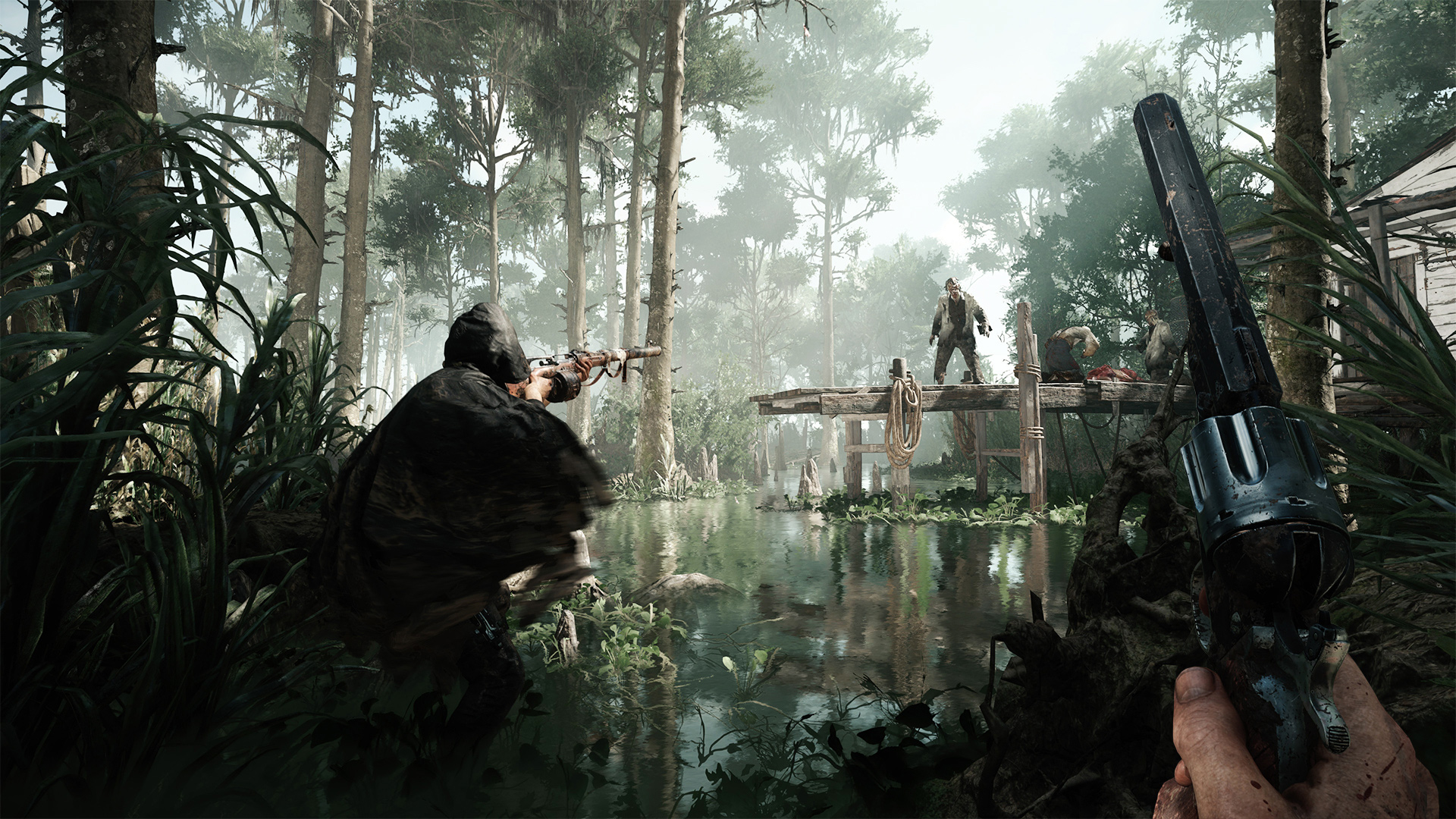 You should play Crytek's monster-slaying shooter Hunt: Showdown during its free weekend screenshot