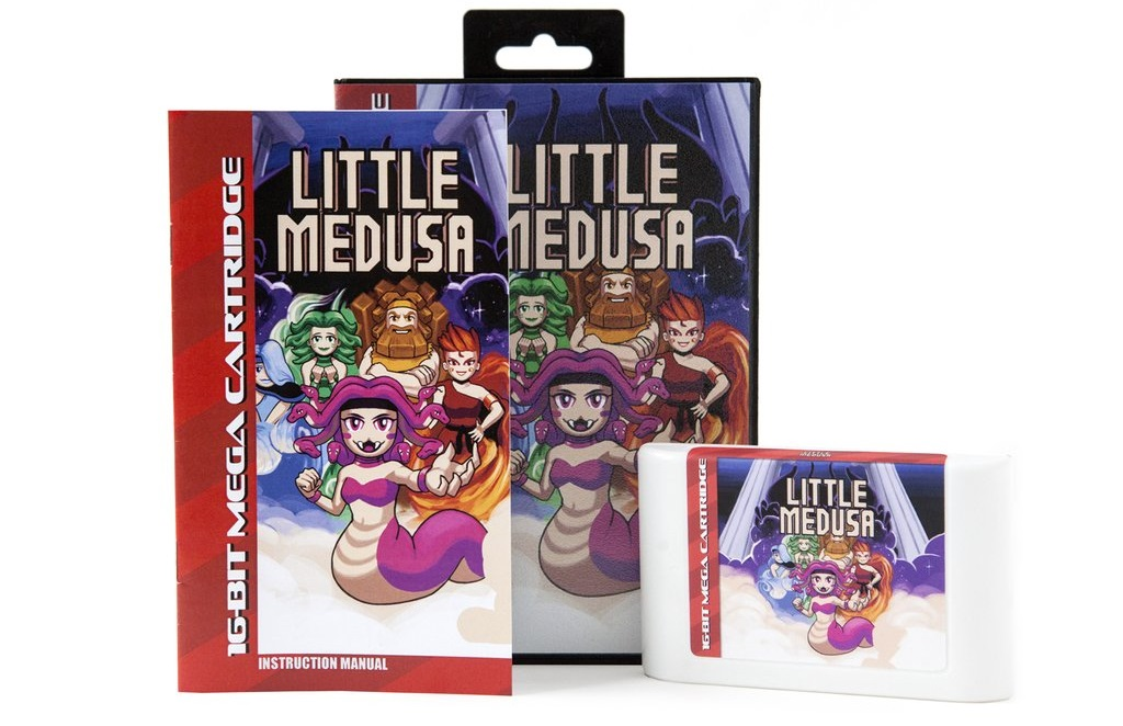 Contest: Win a Genesis cart for retro action game Little Medusa screenshot
