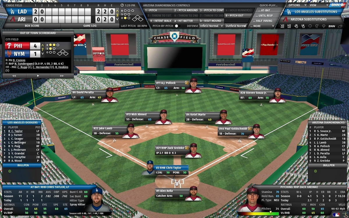 Contest: Win a Steam key for Out of the Park Baseball 19 screenshot