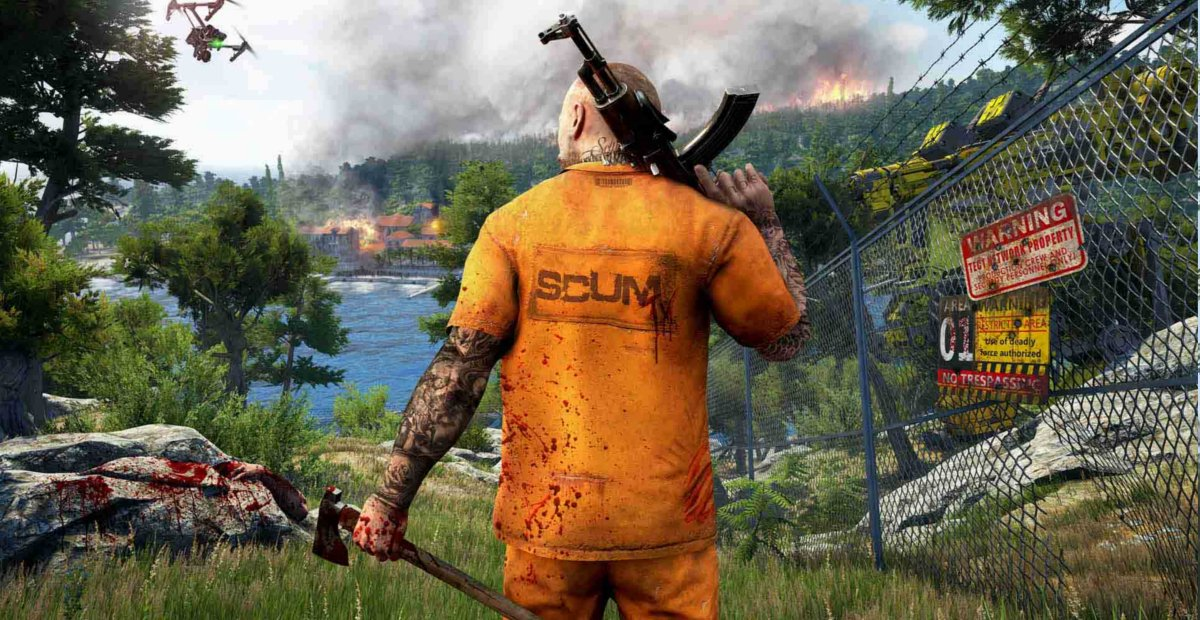 Detailed survival game SCUM finally coming to Early Access later this month screenshot