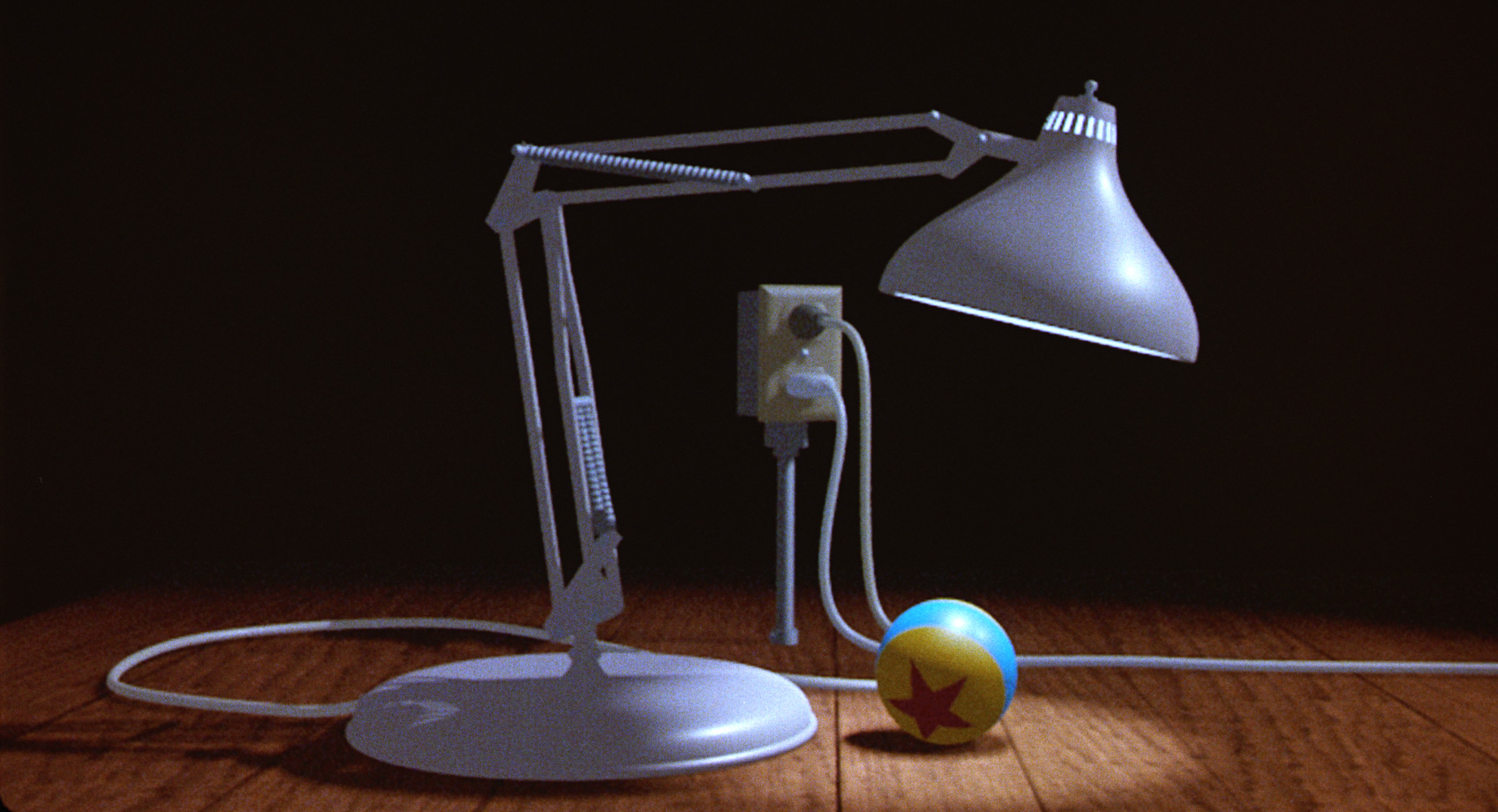 The Pixar lamp is the greatest cinematic lamp (brought to you by Lampo Inc. Lamps) screenshot