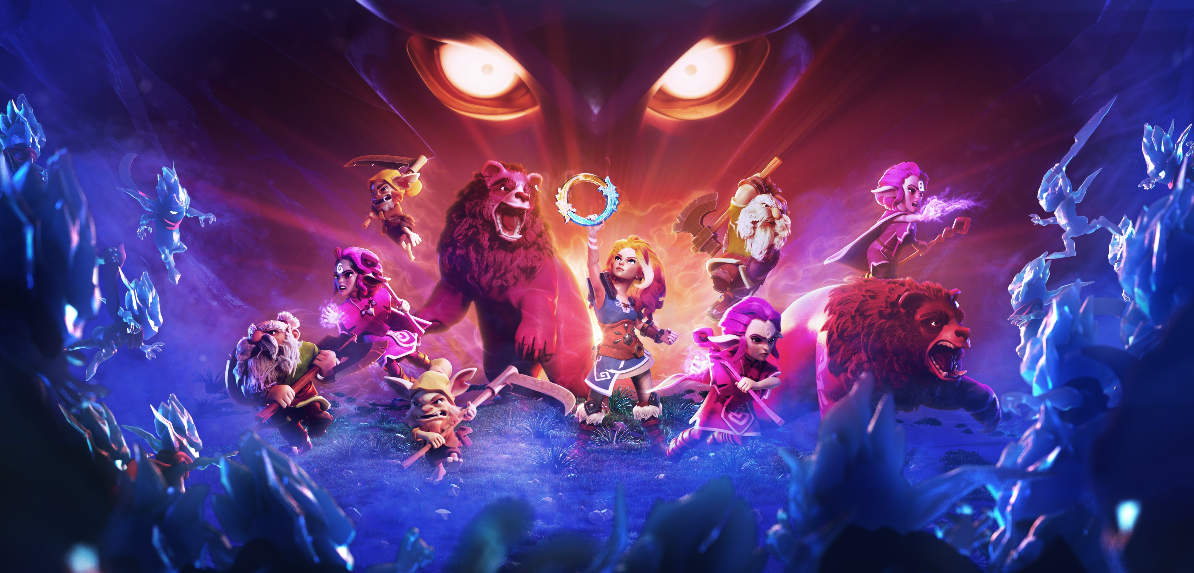 The creators of Candy Crush's next project: Legend of Solgard, a Ragnarok themed RPG screenshot
