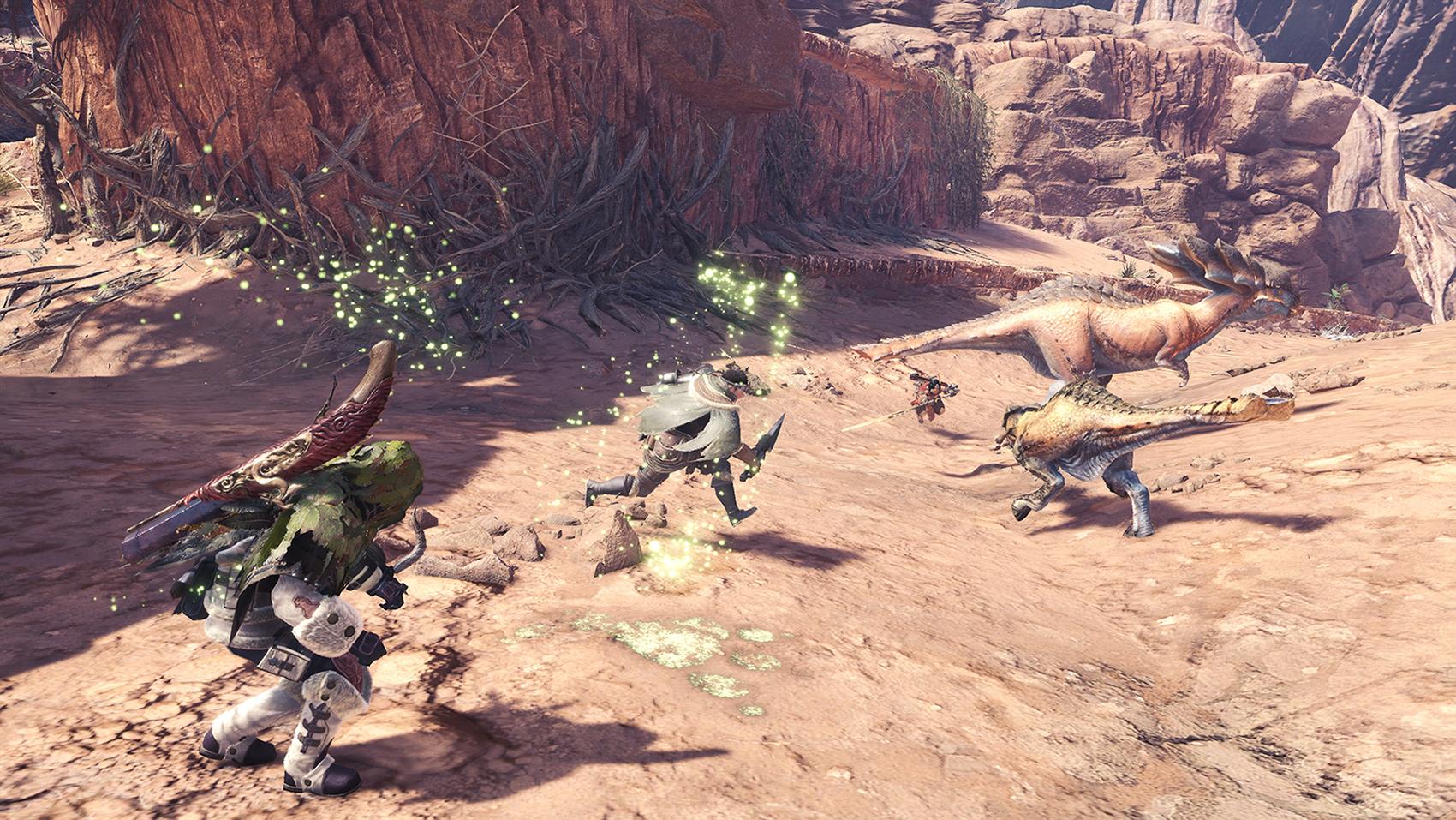 This Monster Hunter: World mod removes Scoutflies screenshot