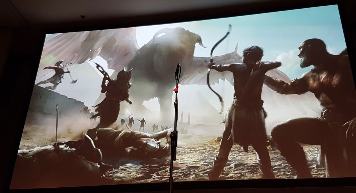 God of War's original pitch was down to Norse and Egyptian mythology, and the tie-breaker director chose the former screenshot