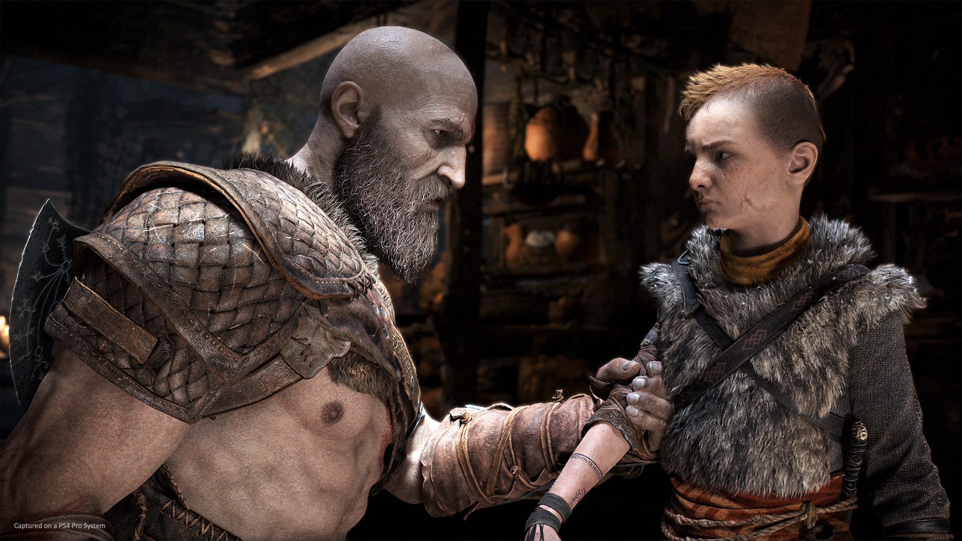 God of War has a lot packed into New Game+ mode screenshot