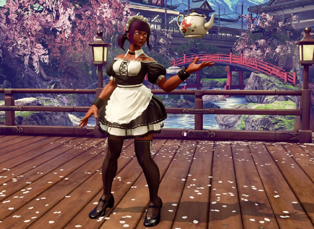 Street Fighter V Adding Maid Style Dlc Outfits Next Week
