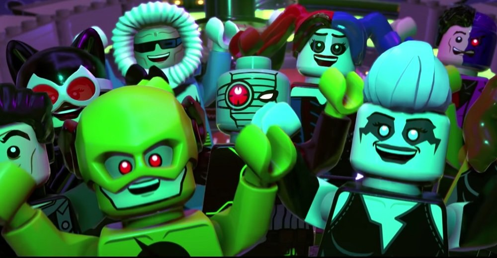 Darkseid is up to no good, only you and the LEGO DC Super-Villains can stop him screenshot
