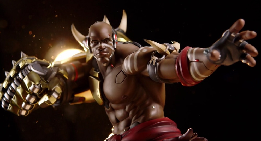 The mighty Doomfist is the next Overwatch statue coming to dominate your home screenshot