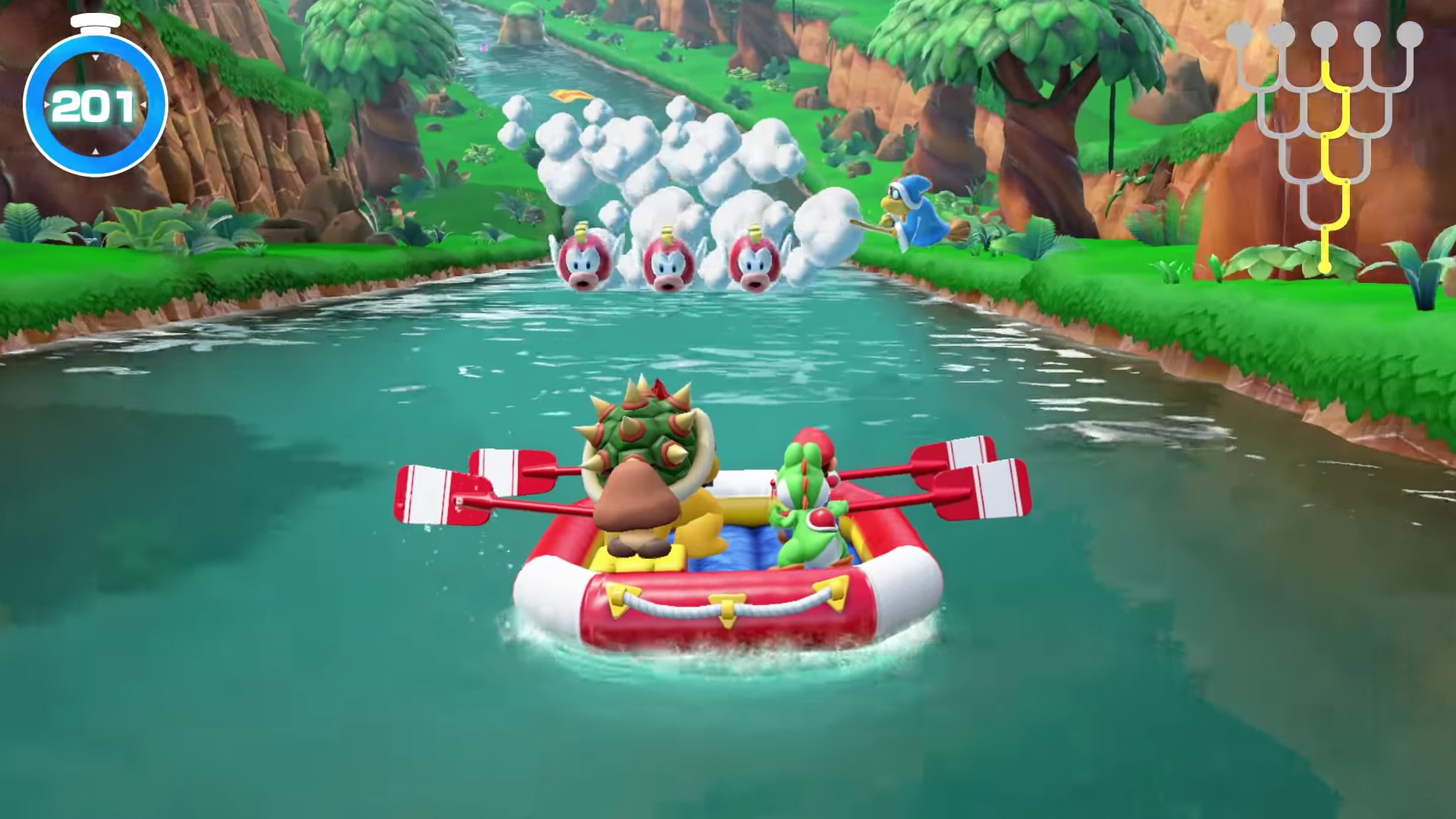 Image result for super mario party river