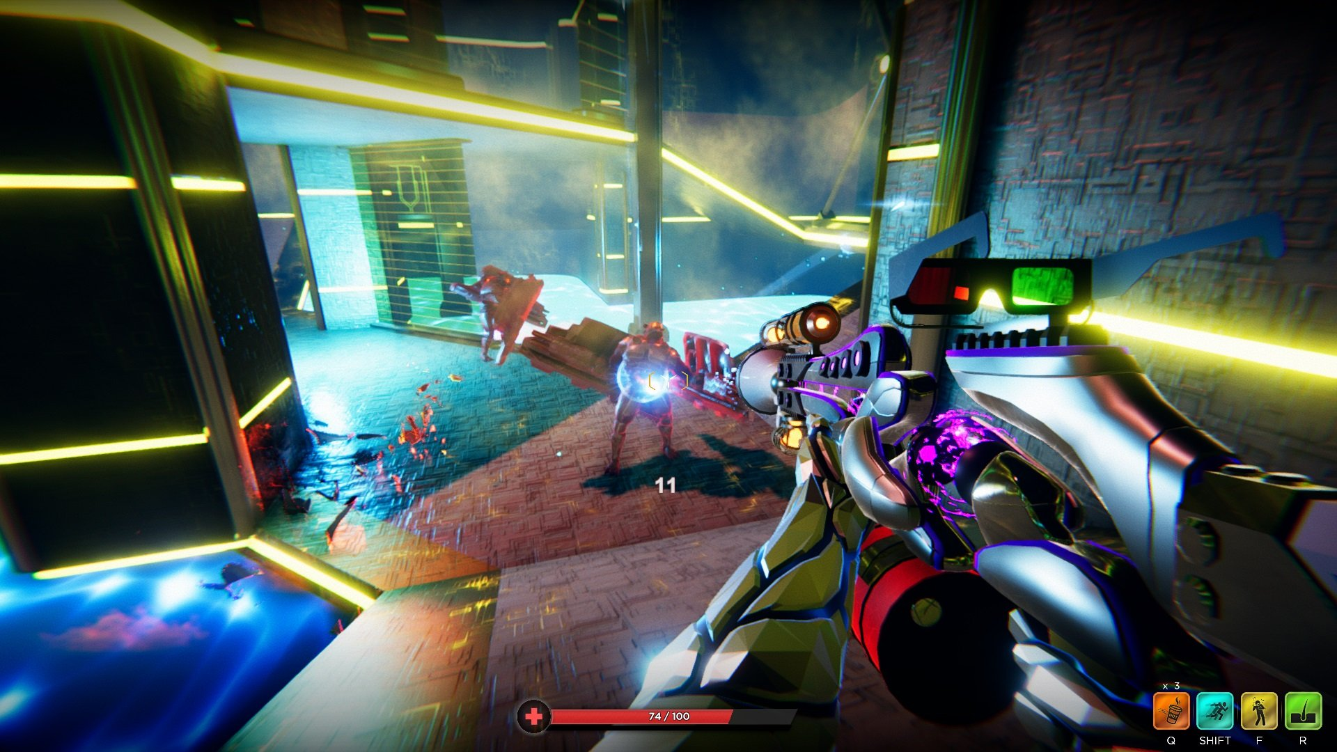 Giveaway: Empty your clip for a Steam key of Hypergun - AllGames