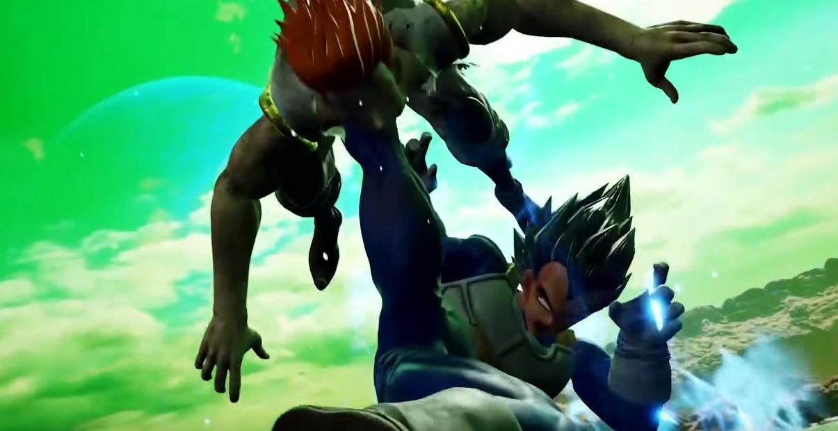Vegeta is going to wreck shop in Jump Force screenshot
