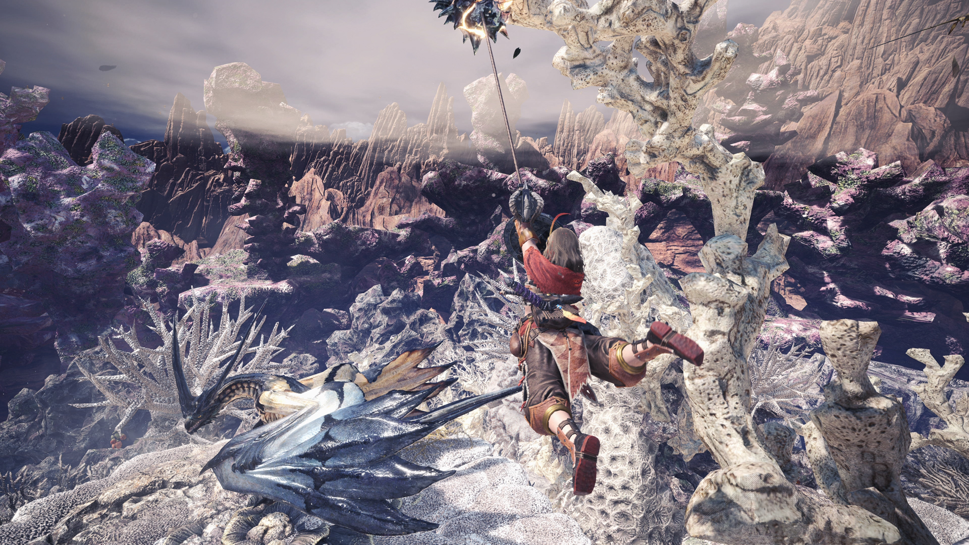 Capcom just pushed a patch to address Monster Hunter: World's PC connection issues screenshot