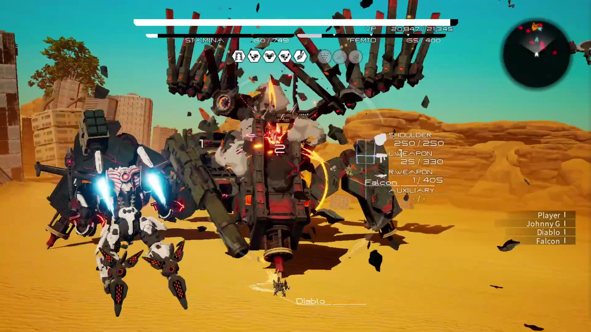 Image result for daemon x machina