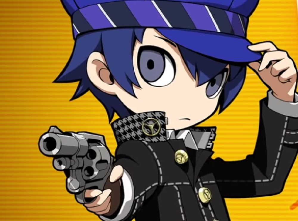 Naoto Shirogane, Detective Prince, is packing heat for
