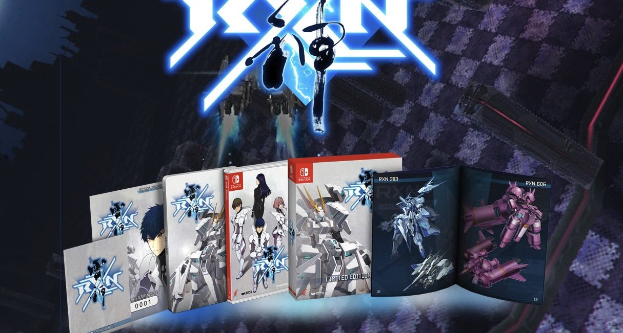 Bullet hell shooter RXN Raijin is getting a limited physical edition on Switch screenshot