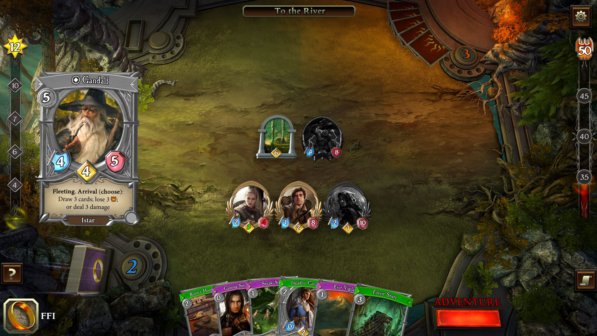 The Lord of the Rings card game's PC adaptation is off to a good start screenshot