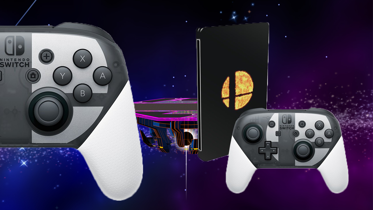 (Update) US gamers are getting a Smash Ultimate special edition with a swanky Pro Controller screenshot