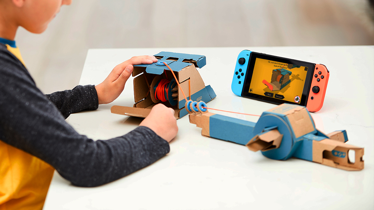 Nintendo will be opening Labo workshops for kids around the US screenshot