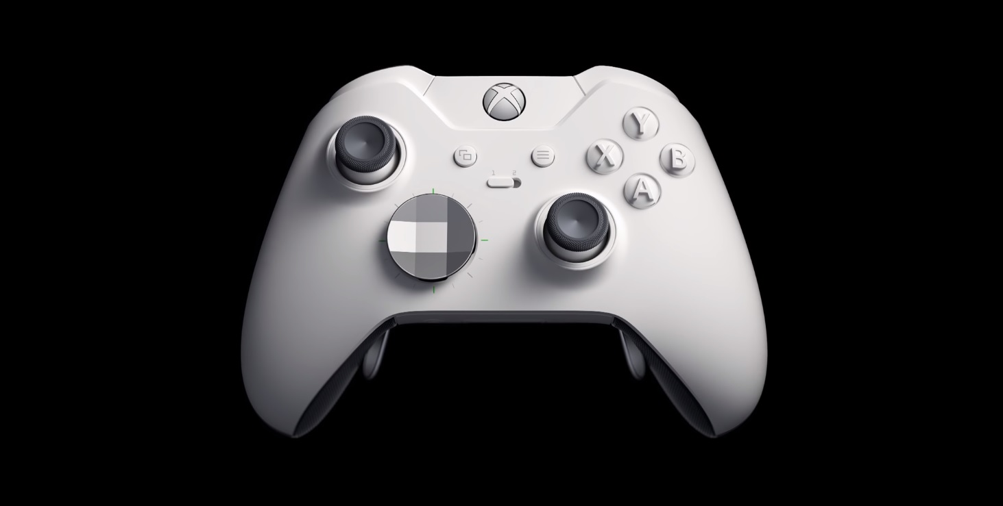 Microsoft is releasing a white Xbox One X and a white Elite controller screenshot