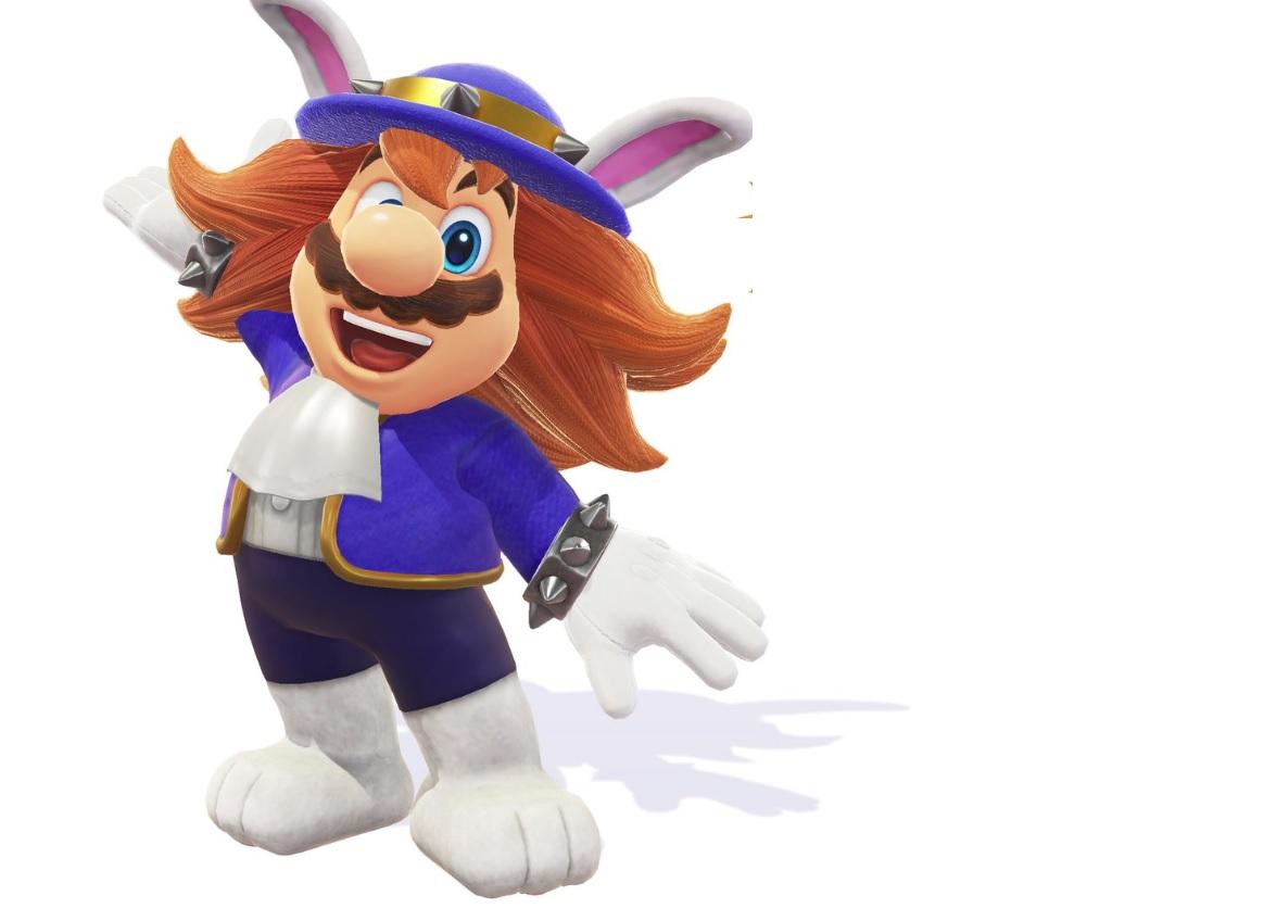 Mario's gross Spewart outfit arrives in Super Mario Odyssey this week screenshot